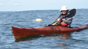 stitch and glue plywood kayak