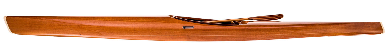 microBootlegger Sport Mahogany Wood Kayak - by Nick Schade - Guillemot Kayaks