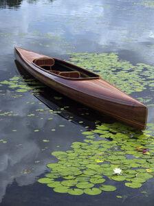 microBootlegger wooden tandem kayak