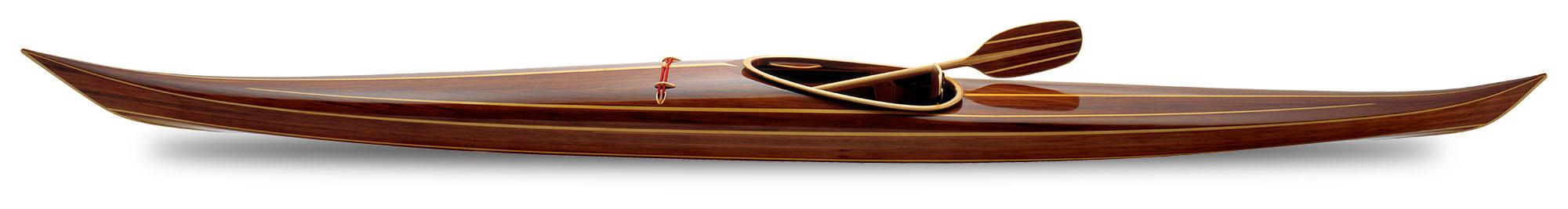 Night Heron Cedar Wood Kayak at MoMA