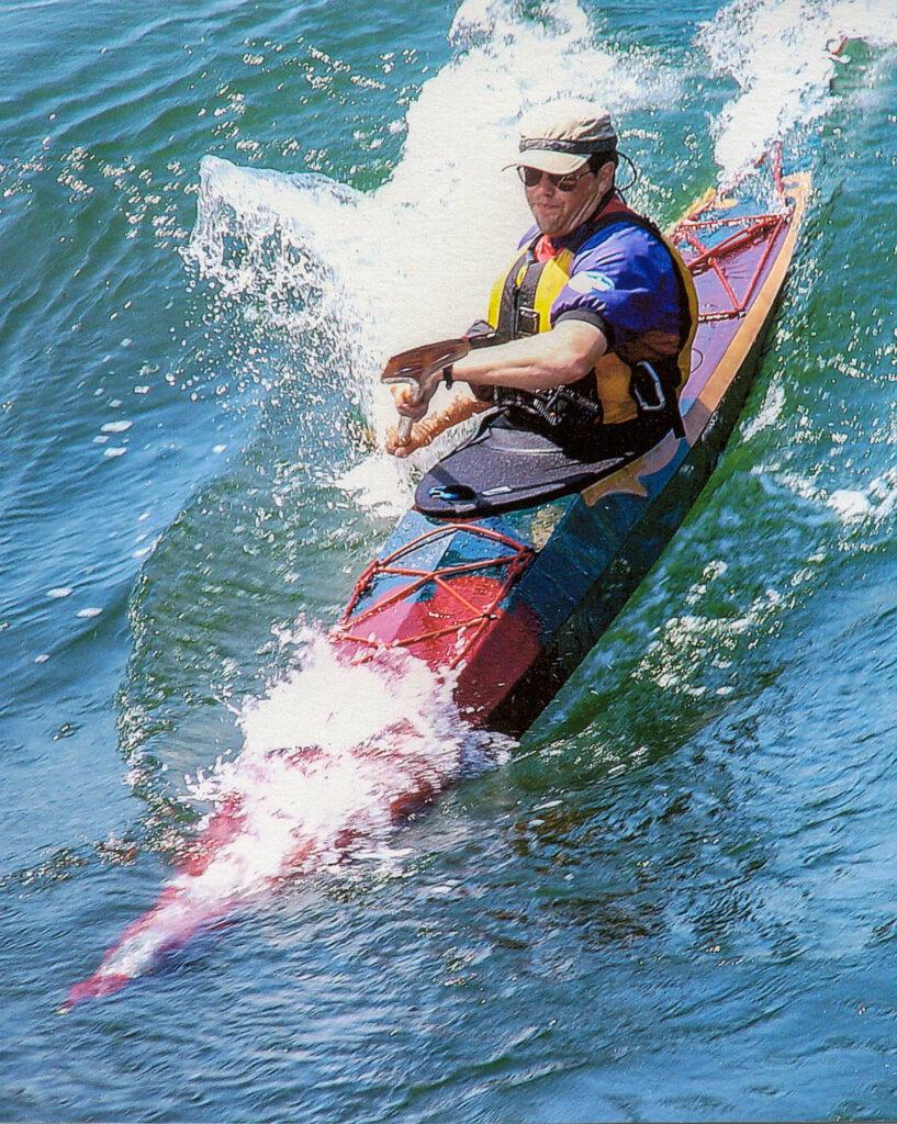 Night Heron Wood Kayak Surfing