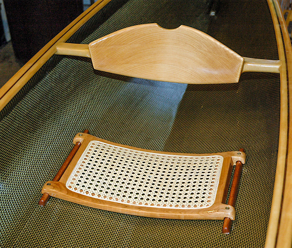Nymph Wooden Canoe Seat and Backrest