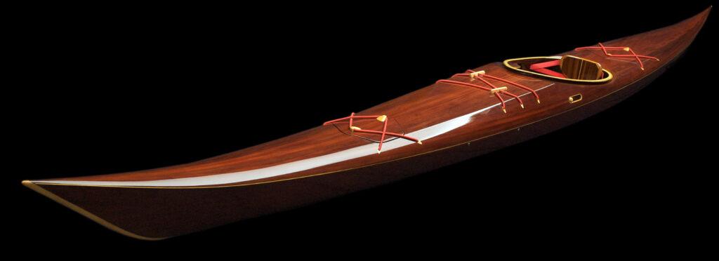 Book Match Western Red Cedar Wood Petrel Sea Kayak