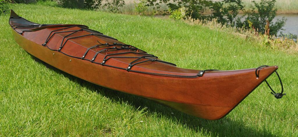 Stitch and Glue Plywood Sea Kayak by Nick Schade