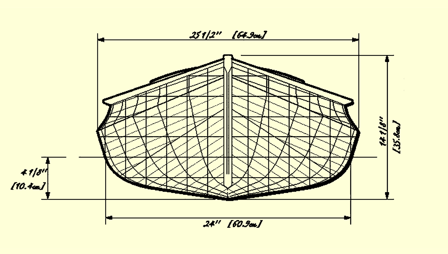 True Ink Return of the Sairy Gamp 15-Pound Canoe