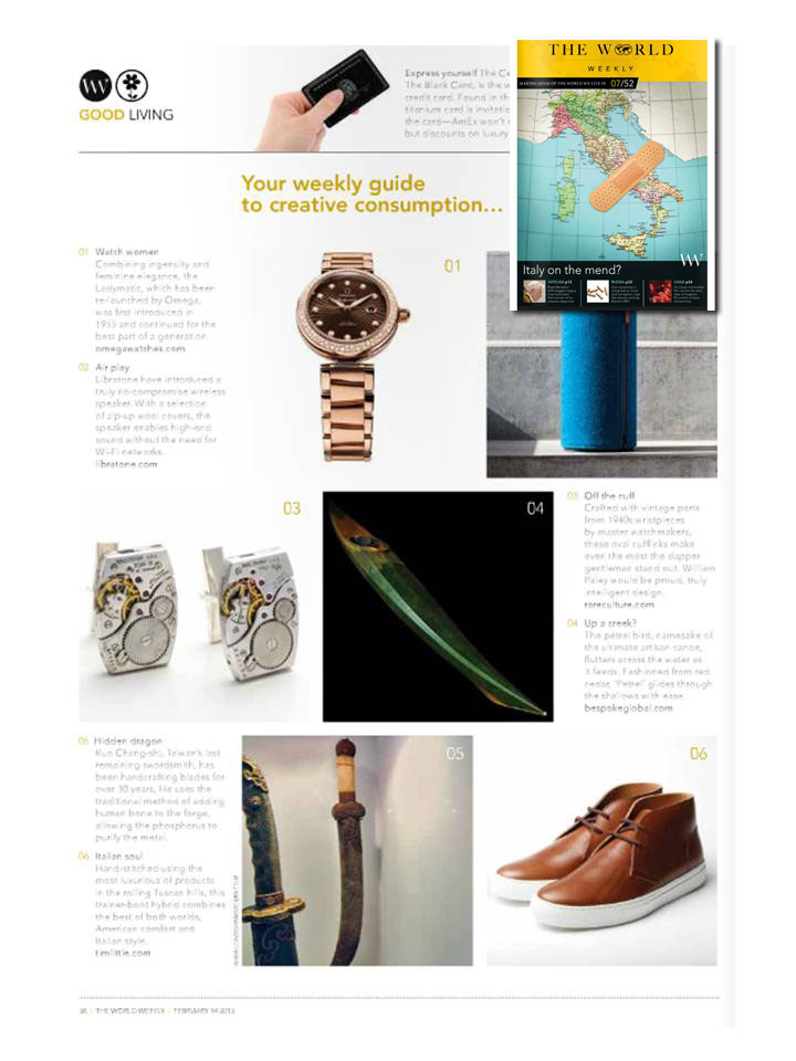 Guillemot Kayaks in The World Weekly