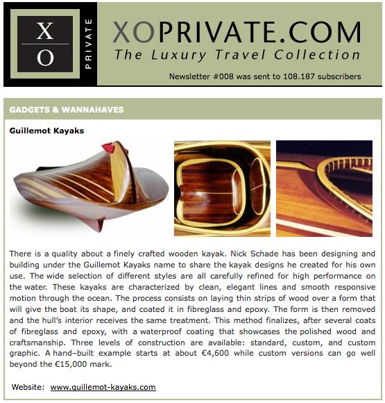 Guillemot Kayaks in XOPrivate.com 2008